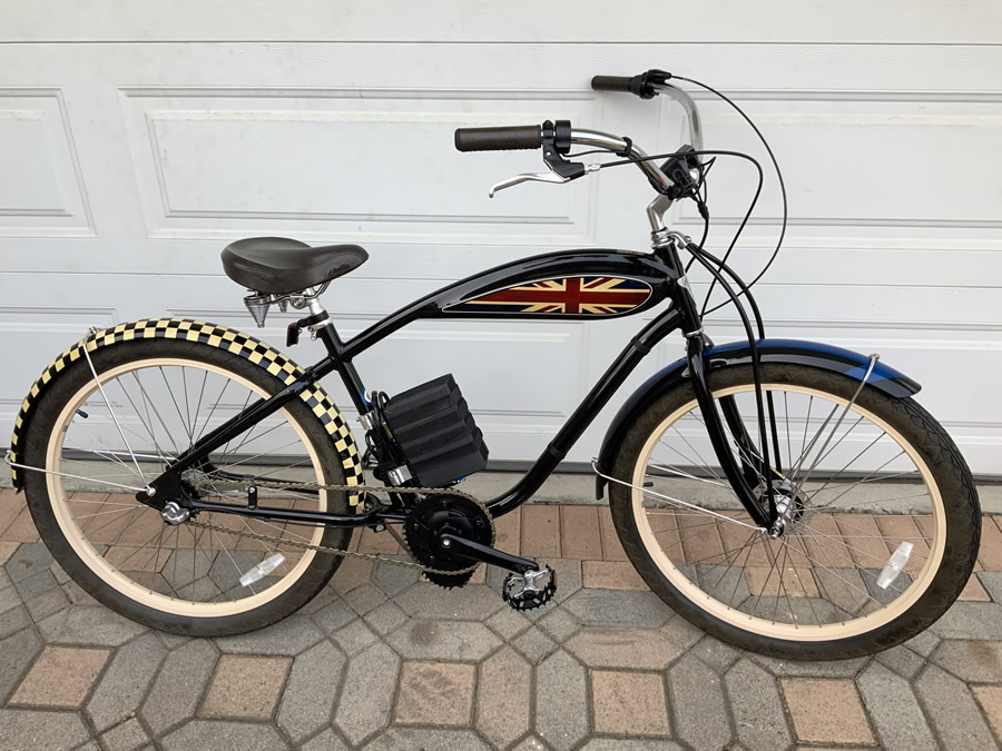 Motorized Electric Cruiser