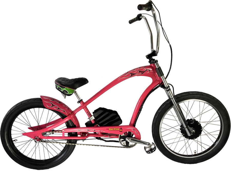 Motorized Electric Cruiser Chopper