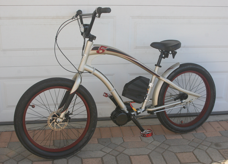 renacade NV motorized e-Cruiser