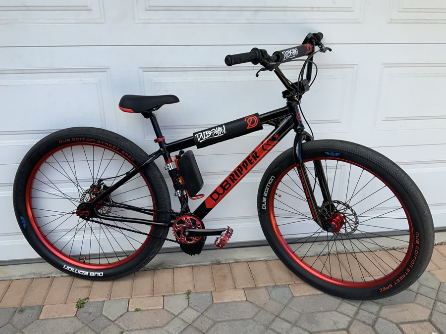 DUB Monster Ripper Motorized Electric BMX