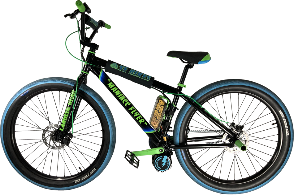 SE Maniacc Flyer Electric Cruiser