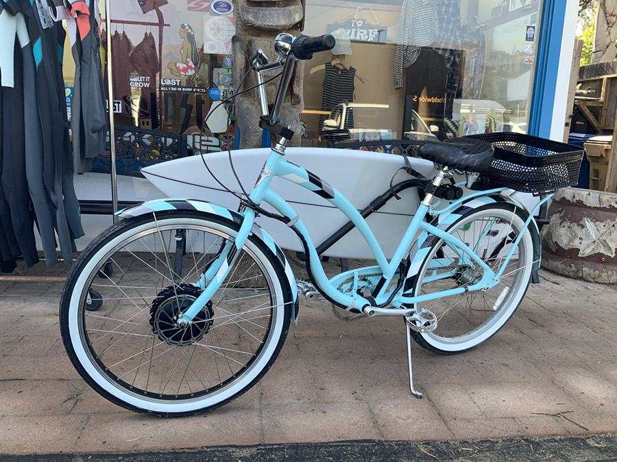 SurfRider Electric beach cruiser