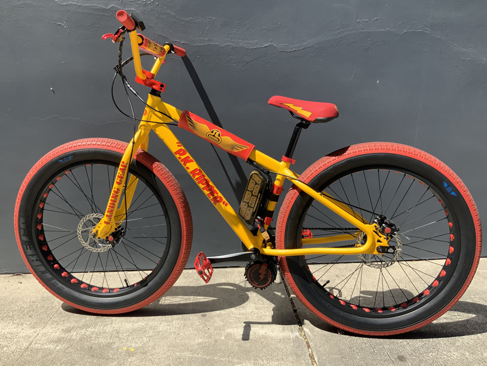 FAT RIPPER Motorized Electric BMX Cruiser